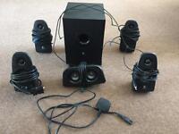 Logitech Z506 surround sound system