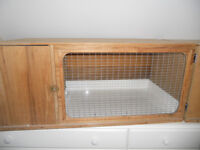 Guinea pig or dwarf rabbit hutches