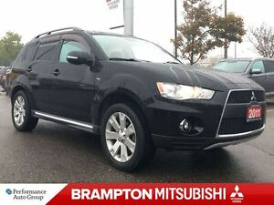 2011 Mitsubishi Outlander XLS (7-PASSENGER! SUNROOF! LEATHER!)