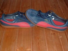 RARE MENS PUMA TOP WINNER TRAINERS - SIZE 9