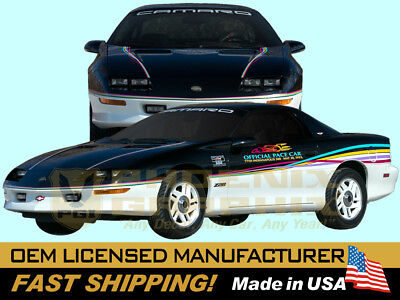 1993 Camaro Z28 Indianapolis Indy 500 Pace Car Decals Stripes Graphics Kit for sale  Chandler