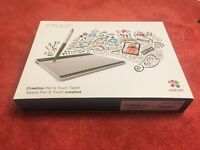 Wacom CTH-480S Intuos Pen and Touch Graphics Tablet - Small. *As New*