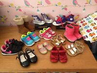 Girls converse , Nike and others