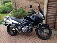 Low milage, excellent condition ready to tour. For sale at £4200 ONO
