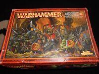 warhammer night goblin regiment new