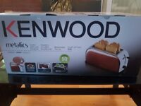 Kenwood Metallics Toaster BRAND NEW PACKED copper colour
