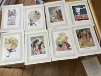 8 Margaret Tarrant Prints from Favourite Fairytales