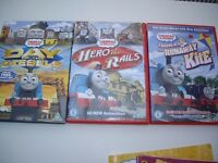 Thomas Tank Engine 3 DVD's and Books £10.00 Buyer to collect