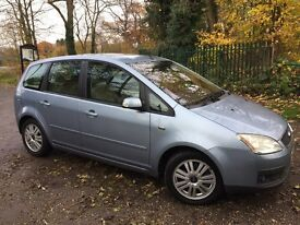 Ford Focus C-Max Ghia for sale 59000miles