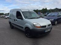 2006 RENAULT KANGO 1.5 DCI VAN SIDE LOADING DOOR AIR CON PX WELCOME NO VAT