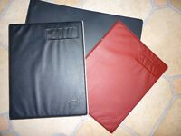 2 TWINLOCK V4 +1 A3 BINDERS WITH QUANTITY OF LEDGER SHEETS