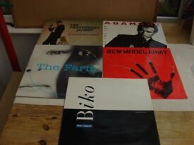 5 VARIOUS ORIGINAL 12 INCH SINGLES IN EX CONDITION £7 THE LOT
