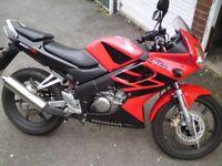 Honda, CBR, 2004, 125 (cc)