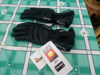 Ladies 3M Porelle, waterproof. Thinsulate motorcycle gloves size XS new