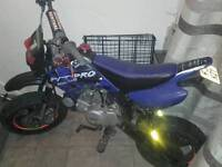 140cc m2r race tuned pitbike