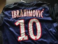 PSG Nike Ibrahimovic shirt
