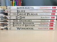 8 'My story' historical children's novels