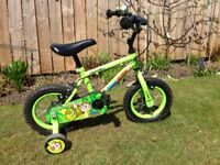 "Apollo Marvin the Monkey 12"" wheel unisex kids bike"