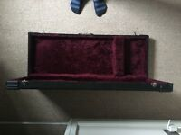 Custom built guitar case. Fits Fender Squire and other guitars of similar size