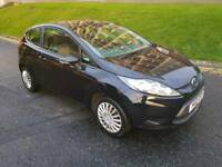 2010 ford fiesta 1.2 edge black 2 owners from new