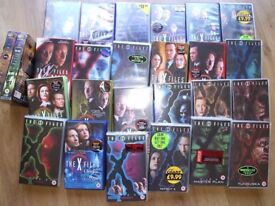 X Files VHS tape collection