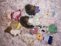 Sylvanian Hotel and various other vehicles and accessories