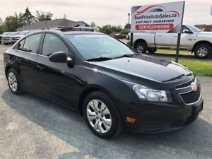 2014 Chevrolet Cruze 1LT! POWER SUNROOF! NEW TIRES! CERTIFIED!