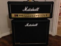 Marshall dsl 50 head and cab