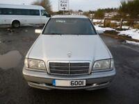 Merc c250td auto ,Mot Oct2018,just had £150 spent on exhaust,dateless reg,om605/2497cc,veg oil car