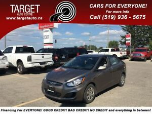 2012 Hyundai Accent 4 Cyl Great on Gas, Drives Excellent and Mor