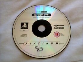 Resident Evil Sony PS1 PAL **Disc Only