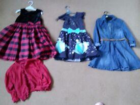 Girls dresses bundle 4-5&5-6&6-7yrs ml5