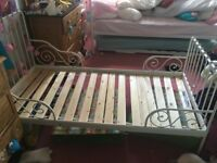 Ikea minnen child's extendable bed (frame only)