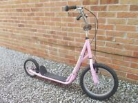 Pink Scooter Suitable For Age 8 – 12 years