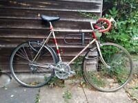 Vintage Raleigh Medale Road Bike