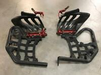 Yamaha Raptor 700 nerf bars & foot pegs