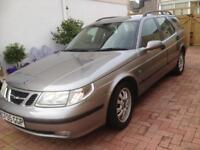 SAAB 9-5 2.2 ESTATE AUTO NEW MOT. 99K