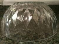 17 x Vintage Cut Glass Bowl Decorative vase