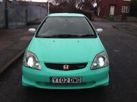 *!ONE OFF HONDA CIVIC EP3 TYPE-R!++ MINT GREEN ++ L@@K!* SWAP/PX?*