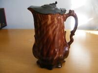coffee pot - tree design