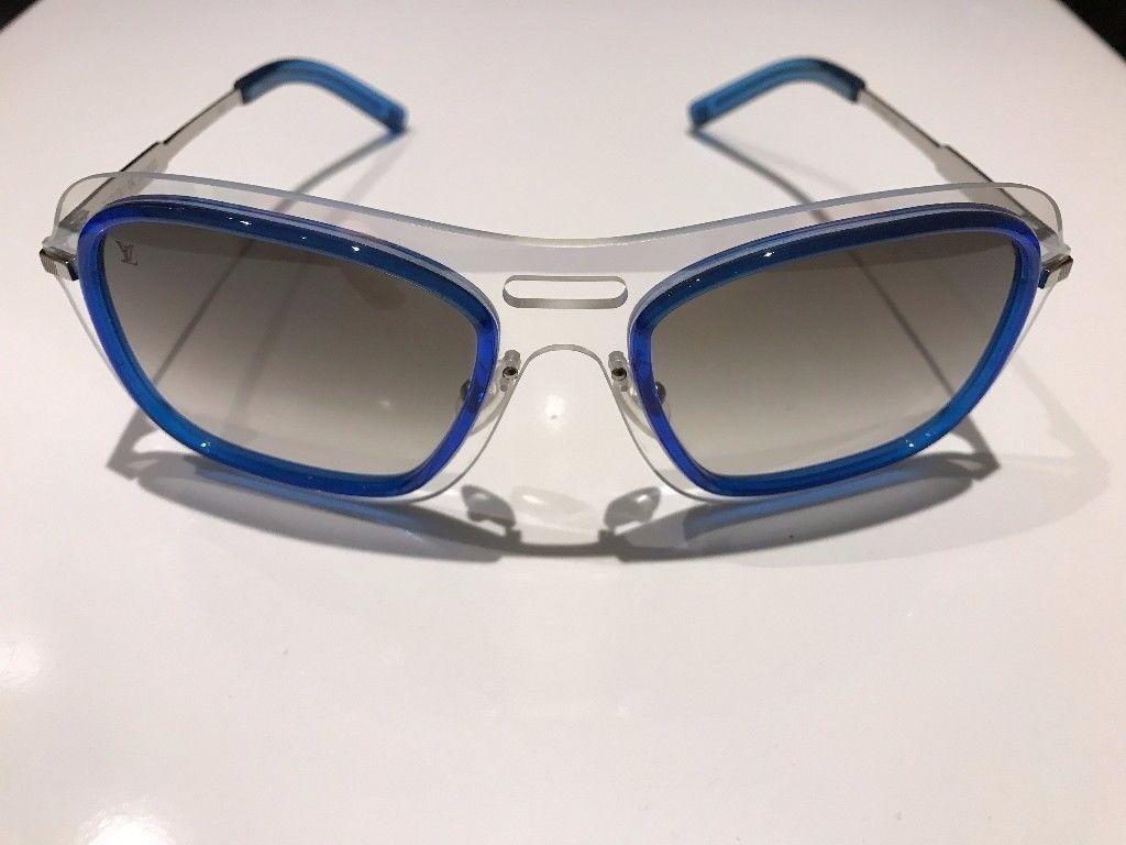 4d78f370859a Genuine Louis Vuitton Attitude Pilote Sunglasses
