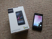 Sony Xperia E1 (black) as new, keept as a backup
