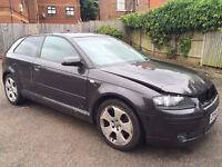 AUDI A3 AUTOMATIC DAMAGED REPAIRABLE OPEN TO ALL OFFERS NOT LEON GOLF CORSA MICRA YARIS MEGANE