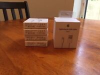 Apple Iphone Original cables for sale (sealed box)