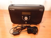 Pure One Elite Series 2 Digital DAB FM Radio with Live Radio Record & Playback TS19 Stockton Area