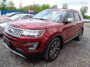 2017 FORD EXPLORER 4WD Platinum / NAV / DEMO / Toit / 3.5L / Eco