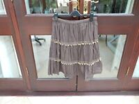 Ladies Size Medium Cotton Summer Skirt