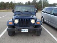2001 TJ for sale