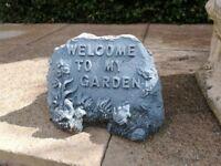 Garden fairy statues, 8, plastic