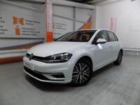 Volkswagen Golf SE NAVIGATION TSI BLUEMOTION TECHNOLOGY DSG (white) 2017-09-29